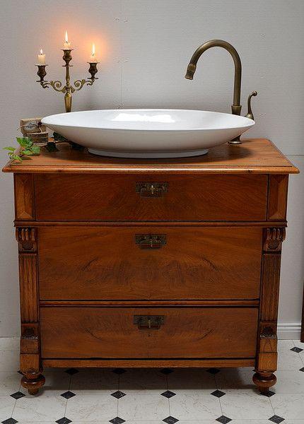 Die Besten 25+ Antike Badezimmer Waschtische Ideen Auf Pinterest   Badezimmer  Antik