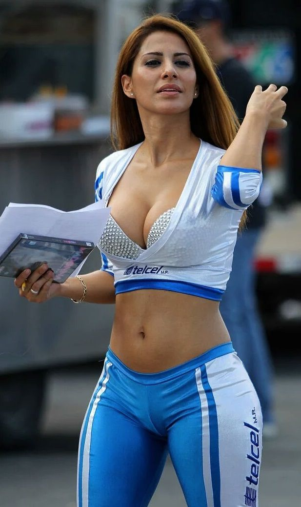 Ladies & Sport: Grid Girl | Ladies & Sport | Pinterest