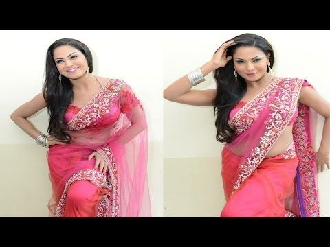 Veena Malik in TRANSPARENT SAREE - LEAKED photoshoot pictures. (18+)