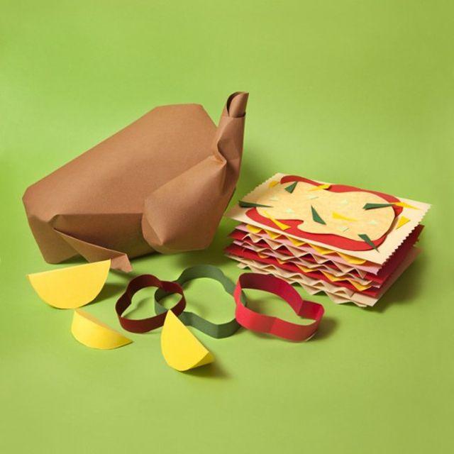 Paper Craft Sculptures Of Food 7