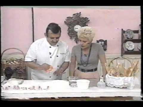 Santa Receita | Aprenda a fazer pizza enrolada gratinada por Júlio Cruz - 22 de Agosto de 2016 - YouTube