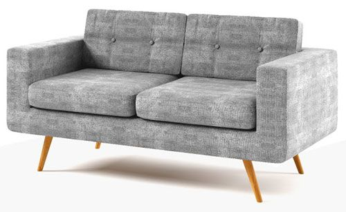 York two-seater sofa in the Achica Retro Revival sale