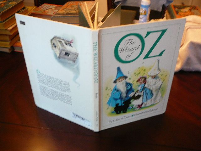 The Wizard of OZ. Illustrated by Maraja. Large hardcover c1957, but 1989 reprint