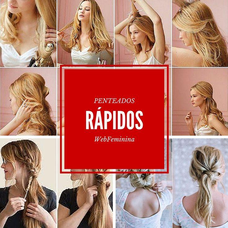 Penteados Rápidos - http://webfeminina.com/penteados-rapidos/