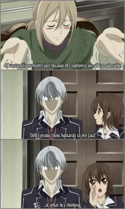 vampire knight funny | Vampire Knight ^.^ (Minor Spoilers)