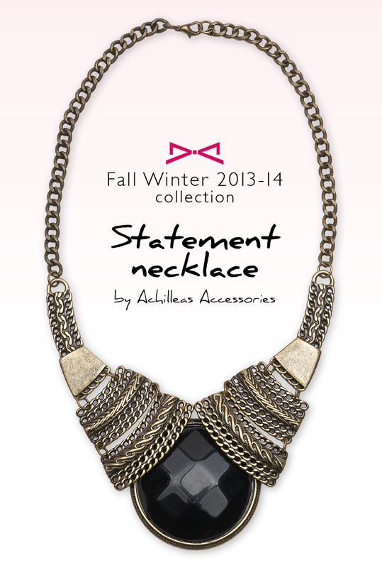 CHUNKY BEAD ZENILDA CHAIN COLLAR NECKLACE