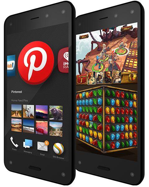 Amazon Fire Phone - Unlocked GSM, 13 MP Camera - Shop Now