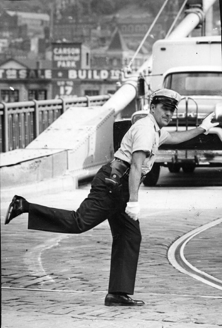 "the one.... the ONLY.... the original... our very own..... the beloved VIC CIANCA.....<3 ""pittsburgh's dancing traffic cop""....<3 The Digs: Pittsburgh Post-Gazette..... :-)"
