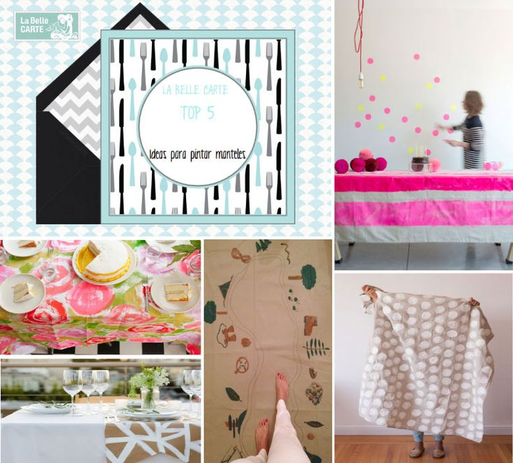 160 best images about la belle diy on pinterest party - Manteles para bodas ...