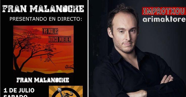 Agenda | Tarde de comedia en Arimaktore y de rock con Fran Malanoche en El Cuervo