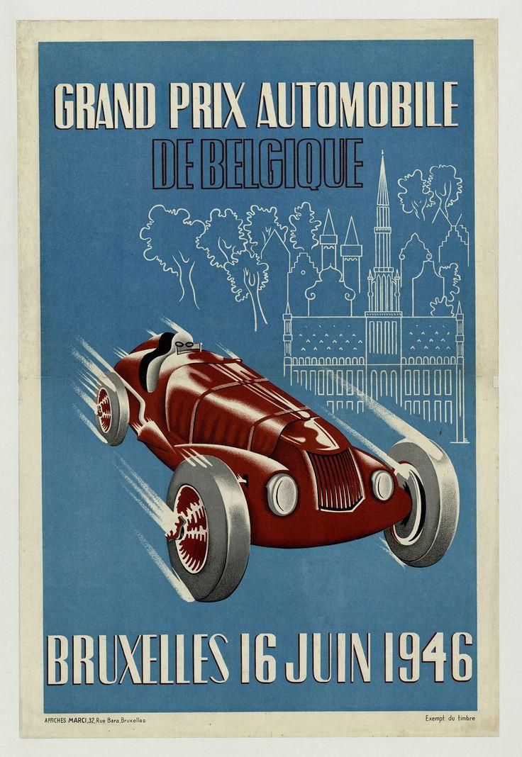1946 Grand Prix Poster - Google Search