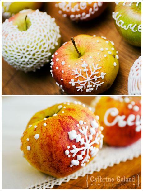 Съедобная роспись: расписываем фрукты и пряники, глазурь для пряников рецепт.