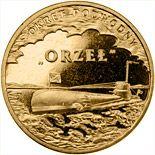 2012 ORP Orzeł 2 zloty
