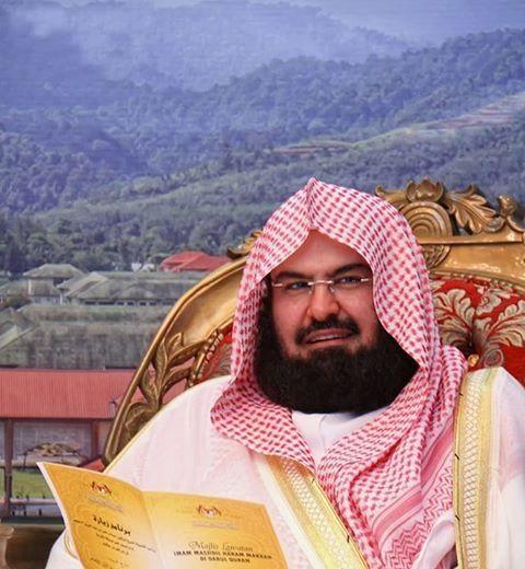 Sheikh Sudais Of Masjid Al Haram Makkah, Saudi Arabia