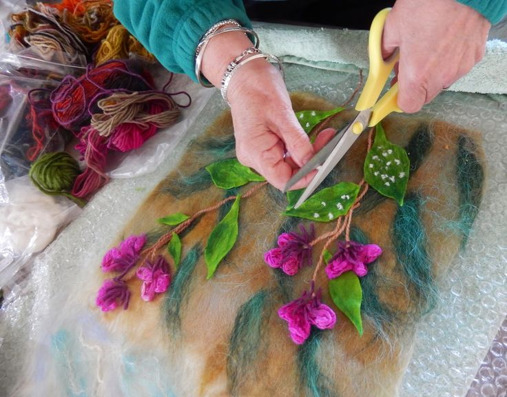 "FELTING matters... : Introducing ""THE FELTED GARDEN""..."