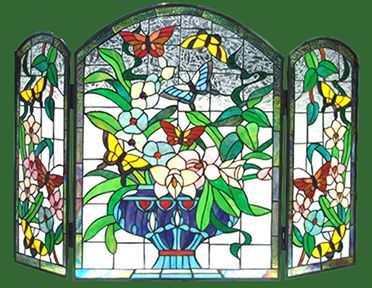 leaded glass fireplace screens. stained glass fireplace screens  STAINED GLASS FirePlace Screens FireScreens StainedGlassSpark 70 best Stained Glass Fireplace images on Pinterest