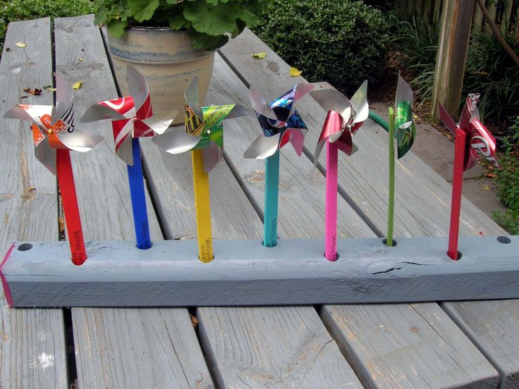 How to Make Yard Art | JeffCo Gardener: How To Make Flowers (or a Pinwheel) Using A Soda Can ...