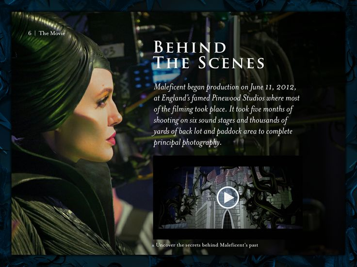 Explore the World of Maleficent with the New Multi-Touch Book. Maleficent Movie ...