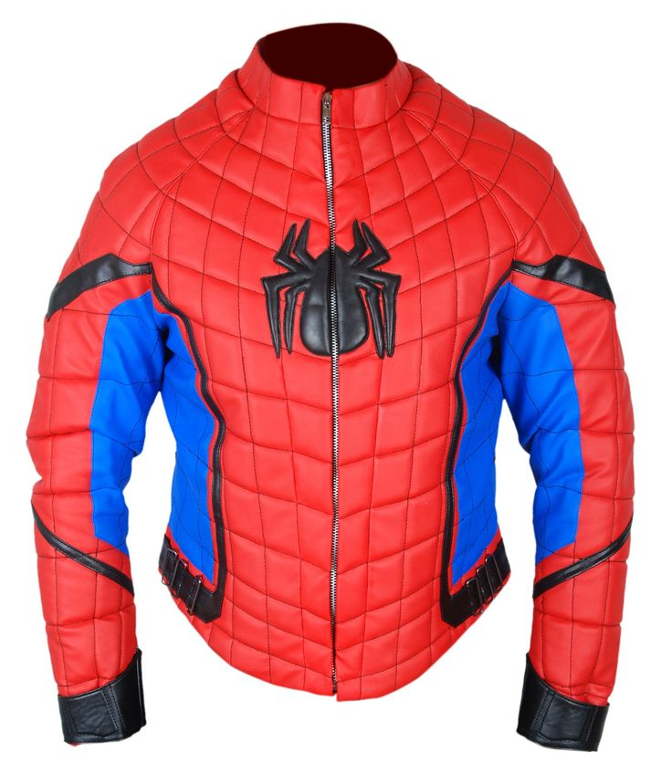 F&H Boy's Genuine Leather Spiderman Homecoming Tom Holland Jacket M Multi. Premium Quality Medium Weight Sheepskin Leather. Polyester + Satin Lining with 2 Inside Pockets. Original YKK Zipper. 30 Day Returns & Exchange, 100% Money Back Guarantee. International buyers may be required to pay import duties as levied by their government.