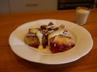 Valli Little's Plum Tray Bake with White chocolate custard | Official Thermomix Recipe Community