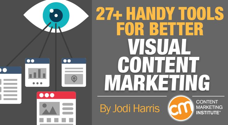 Here are eight best practices and 27+ handy tools for visual content creation to give your brand a distinct and powerful look. – Content Marketing Institute