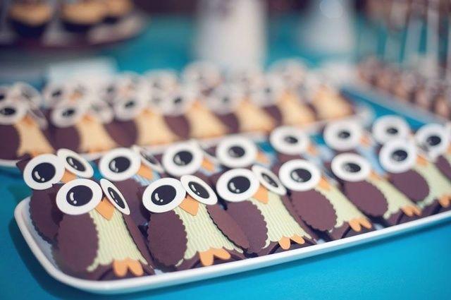 Treats at an Owl Party #owlparty #treats