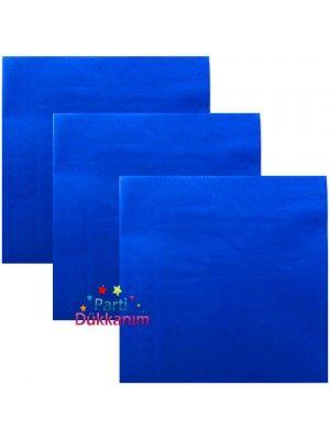 Mavi Peçete Lüks (25 adet)