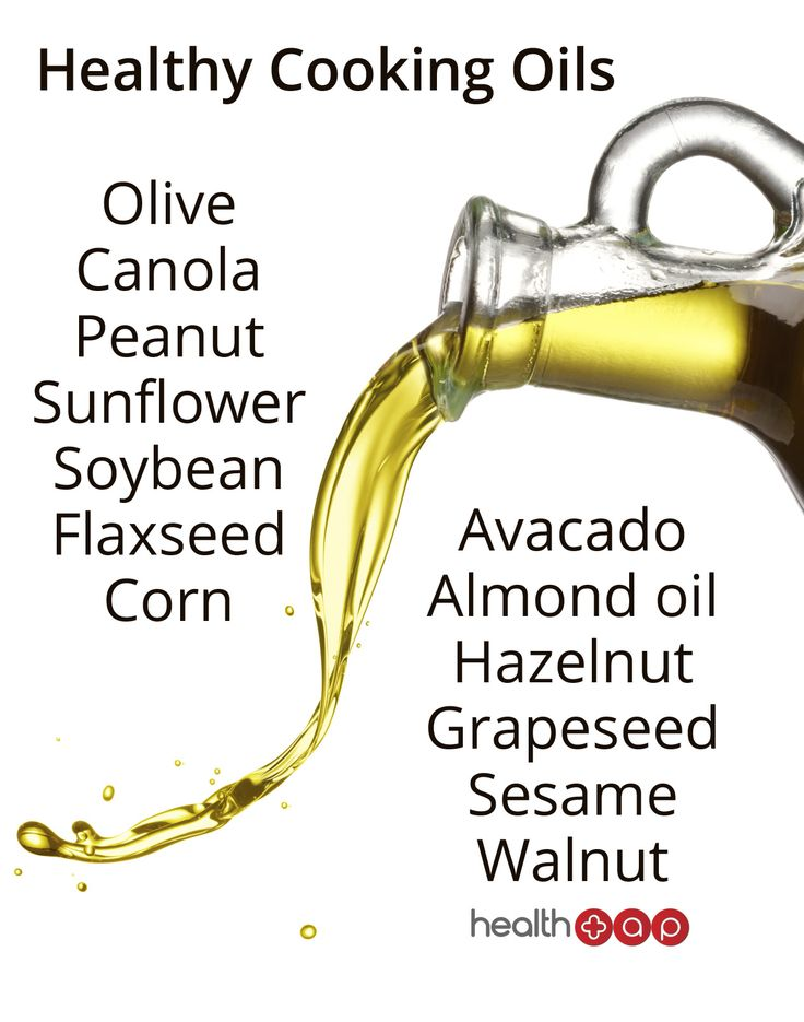 Did you know you had so many options for healthy cooking oils?