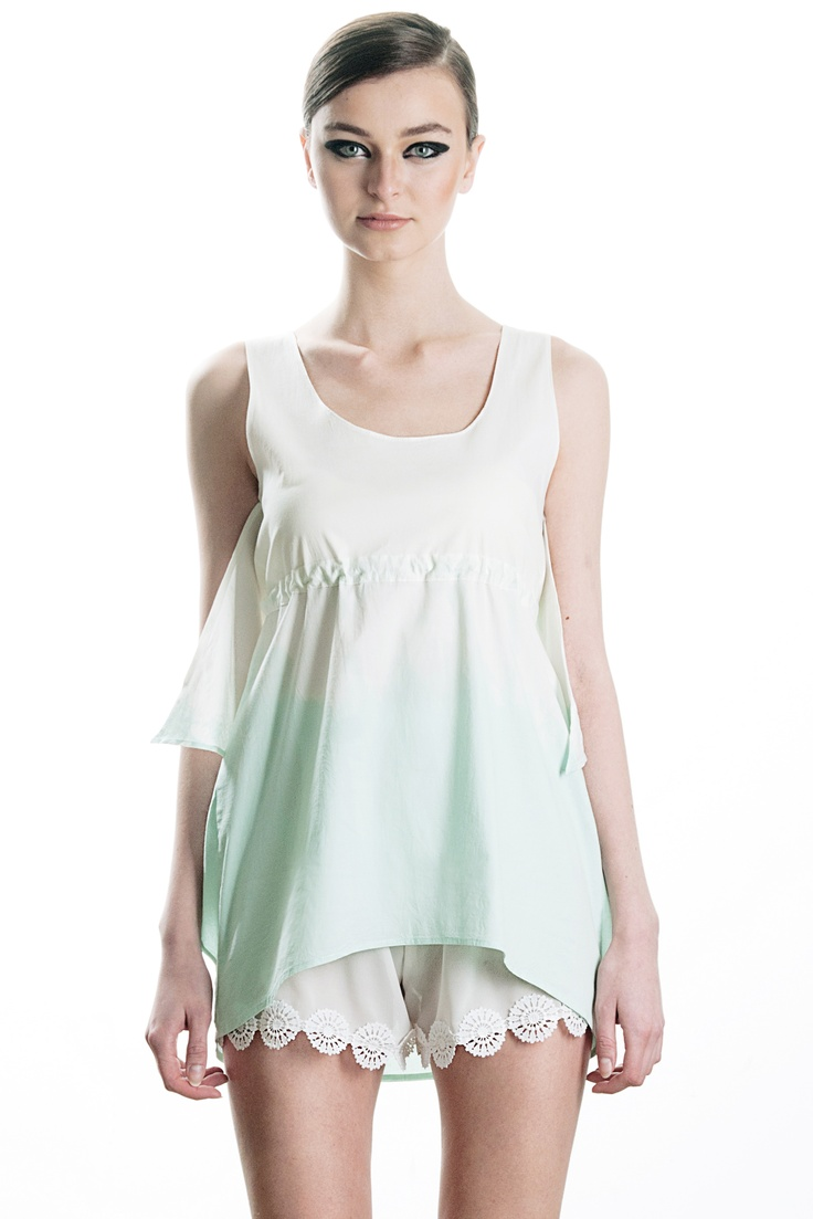 hand-dyed dress, spring / summer 2013  49€