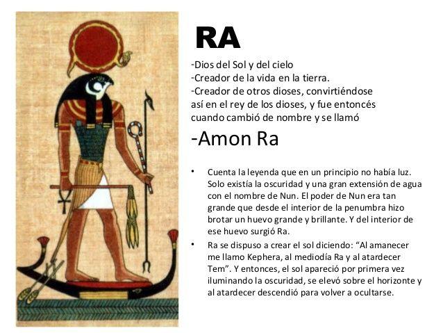 Amón-Ra dios egipcio