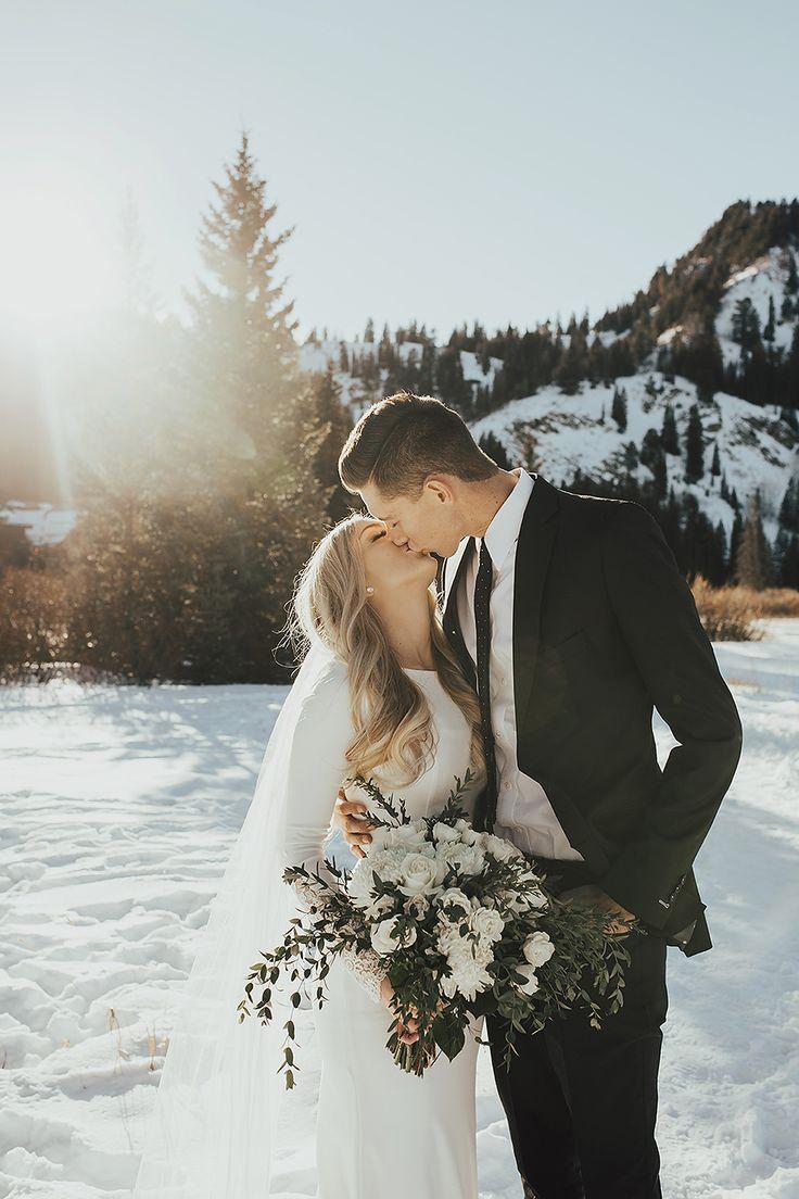 Winter Bridals / Utah Hochzeitsfotograf »Summer Taylor Photography   – W E D D I N G  •  G O A L S