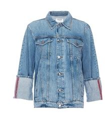 Le Jacket Oversize Reverse Cuff Canyon Cove