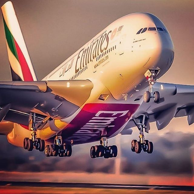 Airbus A380 Taking Off What A Beauty She Is Repost From Fstop