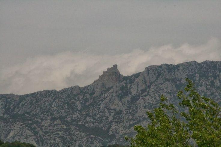 Burg Queribus Frankreich Katharer