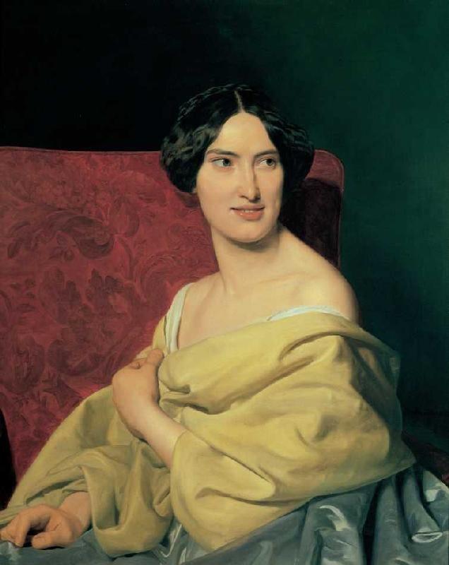 Bild:  Ferdinand Georg Waldmüller - Anna Bayer (1824-1897), die spätere zweite Gattin Waldmüllers