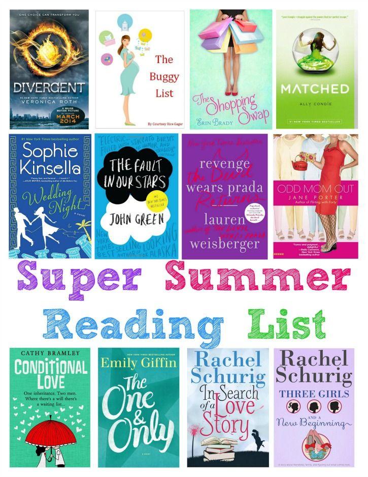 Super Summer Reading List