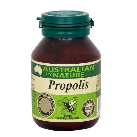 Propolis 500mg – Australian by Nature – 60 Capsules | Shop Australia
