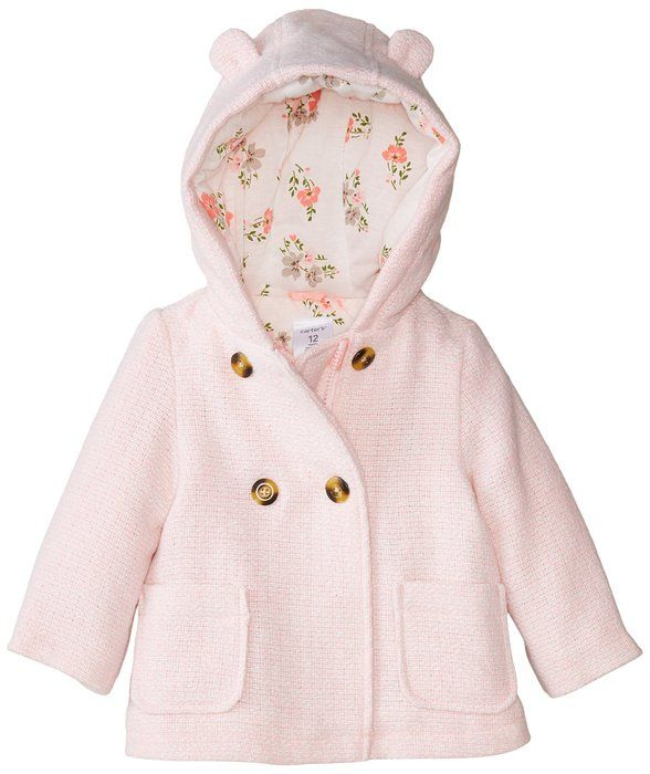 Carter's Baby Girls' Trans Single Jacket, Pink, 12 Months