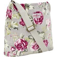 Antique Rose Velvet Messenger Bag  Kath Kidston