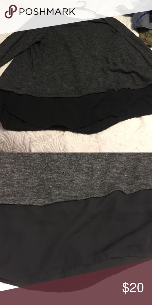 Old Navy Sweater Sheer bottom strip. Old Navy Sweaters