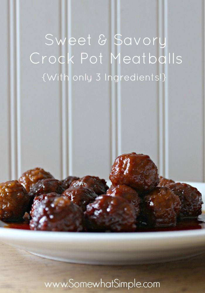 Crock pot meatballs, Crockpot meatball recipe and Grape jelly on ...