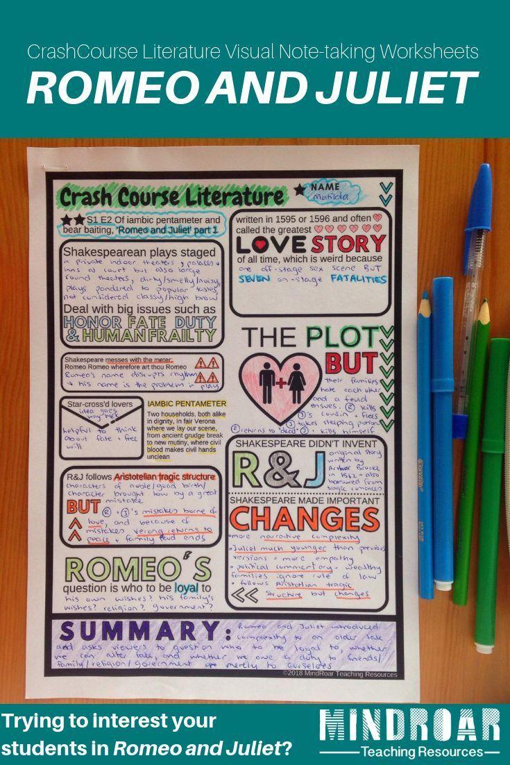 Crash Course Literature Romeo And Juliet Part 1 Season 1 Ep 2