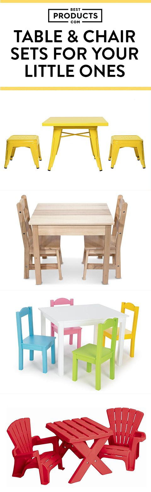 A perfectly sized toddler table-and-chair set is a bedroom or playroom must-have. We've rounded up some hot spots for your child to play, eat, and more.