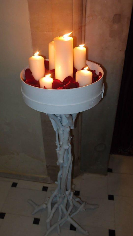 βάση λαμπάδας (ΜΑΝΟΥΆΛΙ)  από θαλασσόξυλα σε λευκό χρώμα..για παραγγελίες 6976773699 ...Δεξίωση | Στολισμός Γάμου | Στολισμός Εκκλησίας | Διακόσμηση Βάπτισης | Στολισμός Βάπτισης | Γάμος σε Νησί - στην Παραλία.