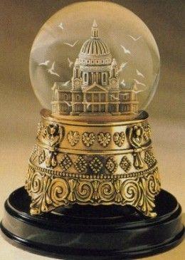 snow globes antique - Google Search