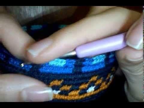 Cuerpo mochila tipo Wayuu parte 1 - YouTube