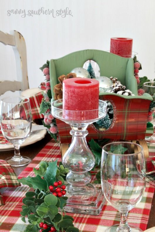 Savvy Southern Style: Christmas Breakfast Table and Tour