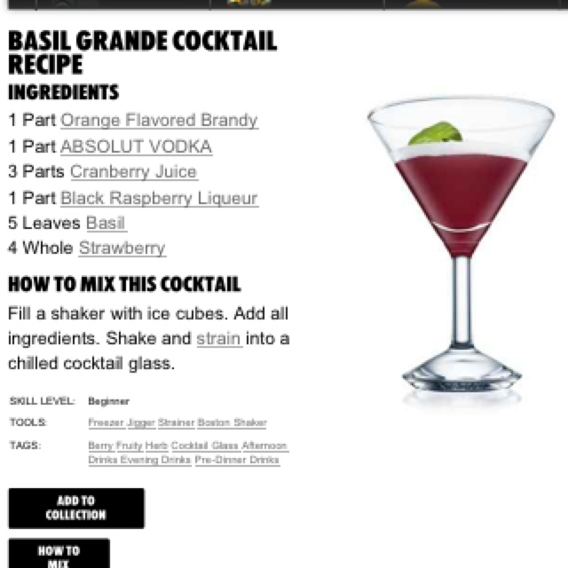Yummy Cocktails To Order