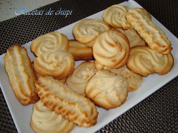 Galletas de mantequilla en la Comunidad de Cocina - Hogarutil.com
