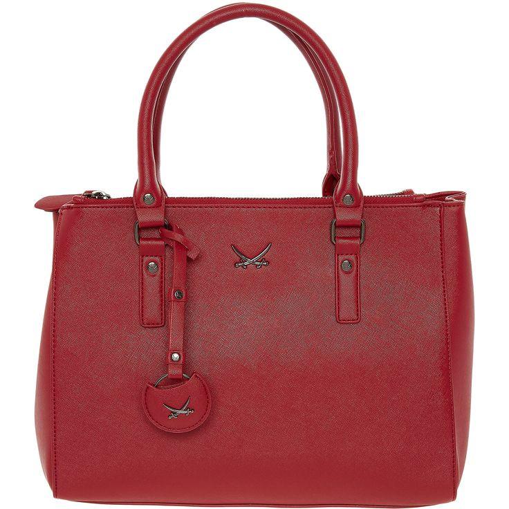 """Sansibar"" Red Three-Pocket Grab Bag - TK Maxx"